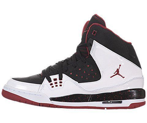 Jordan Shoes Youth 6 Nike Air Jordan (GS) Boys Basketball Shoes  synthetic-and-leather rubber sole Leather and synthetic upper Variable  lacing system PU ...