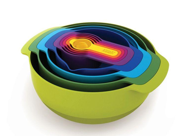 Zestaw przyrządów kuchennych Joseph Joseph Nest 9 Plus Multicolored