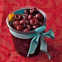 Quick Brandied Cherries   Recipe