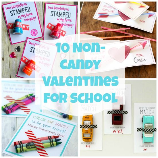 10 Non-Candy Valentines for School