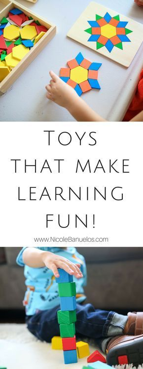 Back to School: 4 Educational Toddler Toys that Make Learning Fun! – Nicole Banuelos