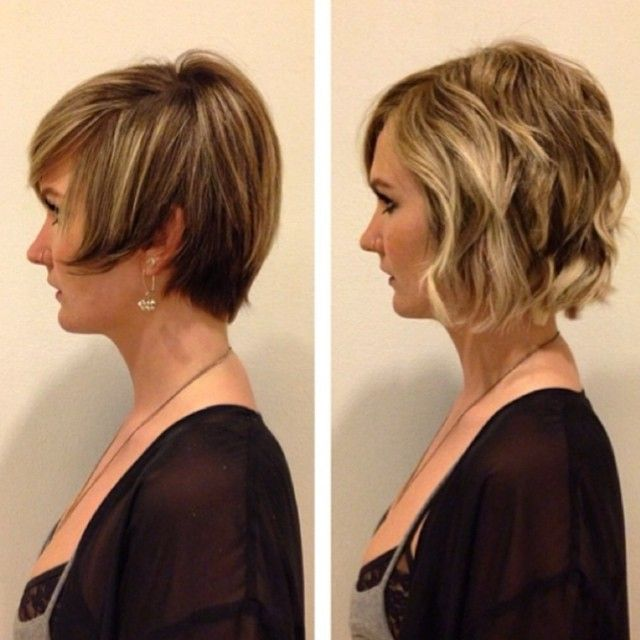 Most clients think extensions are only used to achieve long, flowy looks. This subtle, but powerful ‪#‎tt‬ shows how easily you can add volume & maximize shorter styles. {Follow Stylist AJ @yourstylistaj}