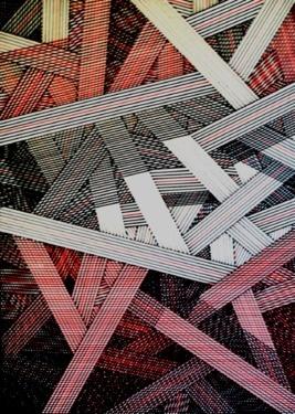 """Saatchi Online Artist Krzysztof Patalas; Drawing, """"fascynacja linią"""" #art"""