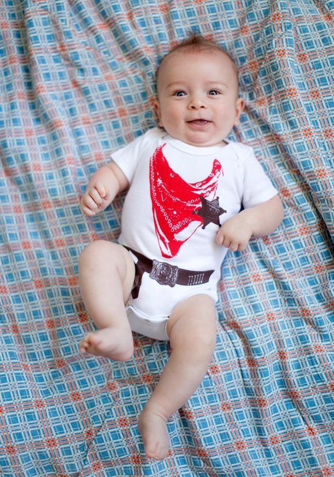 Ropin' Cowboy Onesie   Texas baby! :))): Shop Itsy, Baby Fun, Vintage Shops, Texas Baby, Cowboy Onesie, Baby Stuff
