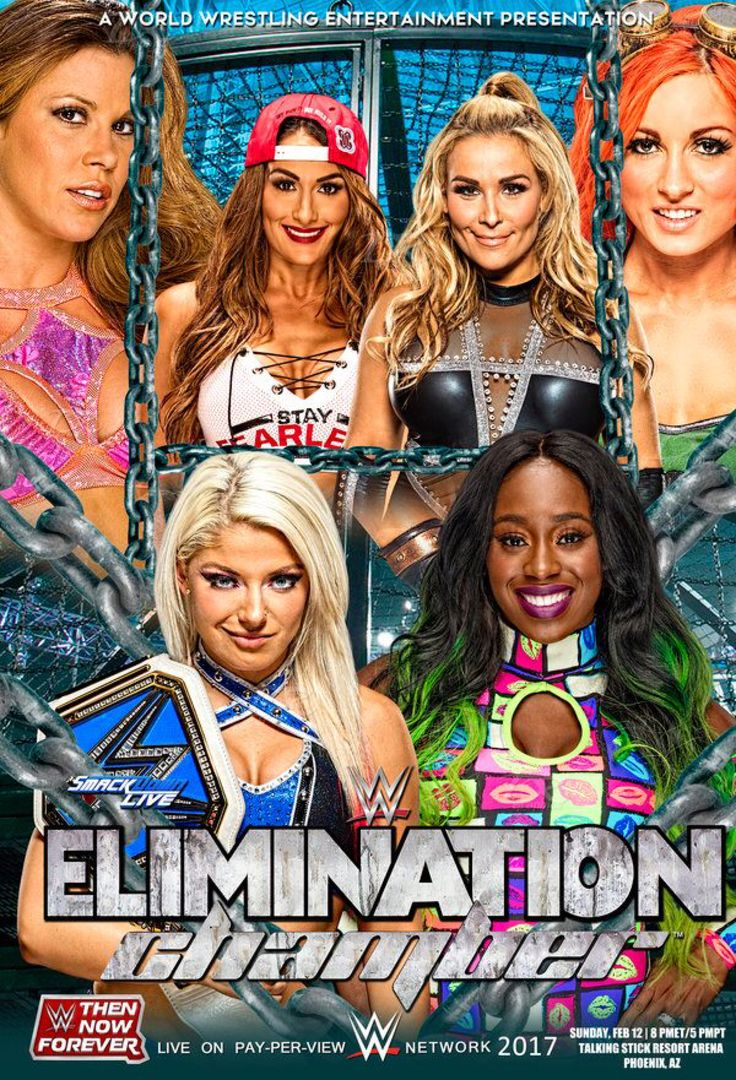 WWE Elimination Chamber 2017 v2 by Dinesh-Musiclover on @DeviantArt