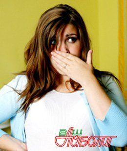 Снятие тошноты и рвоты в домашних условиях