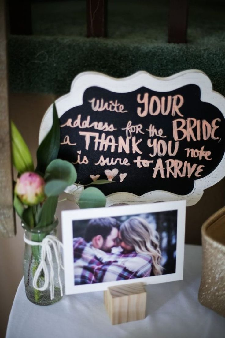 wedding shower poem ideas%0A Creative rustic bridal shower ideas