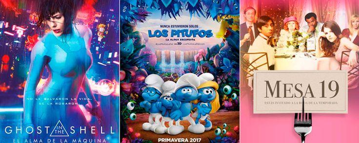 Los estrenos en España de esta semana (27 de marzo al 2 de abril) 'Ghost in the Shell: El alma de la máquina', 'Los pitufos: La aldea escondida' y 'Mesa 19' son algunas de las novedades que ya puedes ver en los cine... http://sientemendoza.com/2017/03/31/los-estrenos-en-espana-de-esta-semana-27-de-marzo-al-2-de-abril/