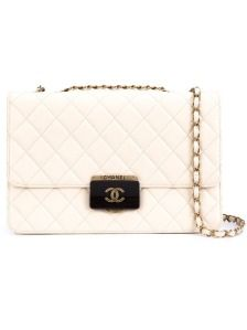 Chanel Vintage quilted shoulder bag, shop now at Farfetch
