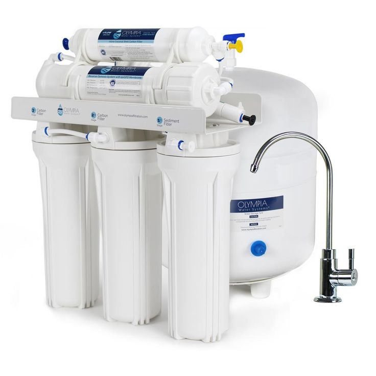 Olympia Water Systems 5-Stage Under-Sink Reverse Osmosis Water Filtration System with 50 GPD Membrane-OROS-50 - The Home Depot