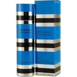 Rive Gauche by Yves Saint Laurent. A classic YSL fragrance from the early Seventies that's currently overshadowed by newer YSL perfumes. Hard to find in stores, but it hasn't been discontinued. It's available online.