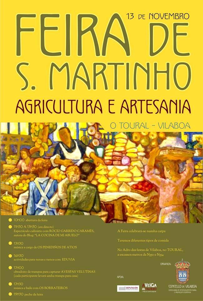 Feira de San Martinho 2016 en Vilaboa