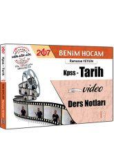 2017 KPSS Tarih Video Ders Notları Benim Hocam Yayınları