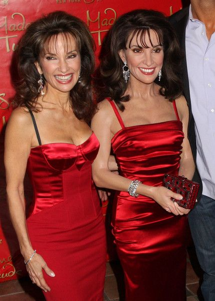 Susan Lucci in person  in wax
