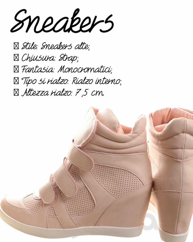 ROSA - #Sneakers donna alte, per acquisto ---> https://www.myvida.org/scarpe/sneakers-alte-#zeppa-interna-strappi