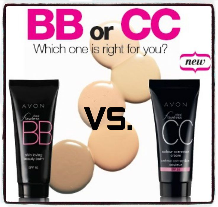 BB & CC creams...what's the difference? Here, their claims. Our cosmetic chemistry expert weighs in on the real difference between BB & CC Creams. Shop online at www.youravon.com/my1724 #AVON #AVONREP #SHOPONLINE #SHOPAVONONLINE #AVONBLOG #GIFTS #AVONPRODUCTS #WEDDING #MAKEUP #AVONMAKEUP #MAKEUPBLOG #BBCREAM #CCCREAM