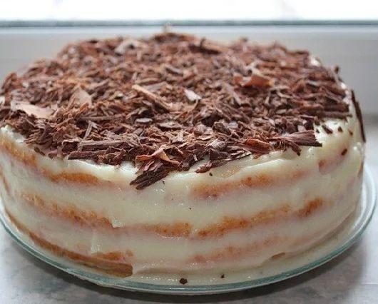 Быстрый творожный торт на сковороде   Кулинарные Рецепты