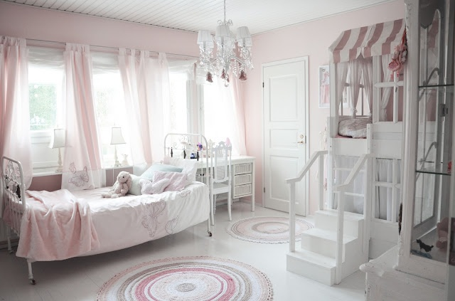 dreamroom for a baby girl