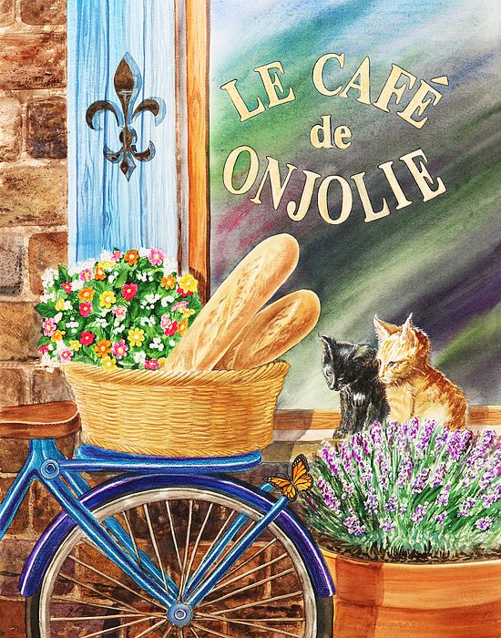 Paint Basket Art Lessons : Best ideas about bicycle painting on