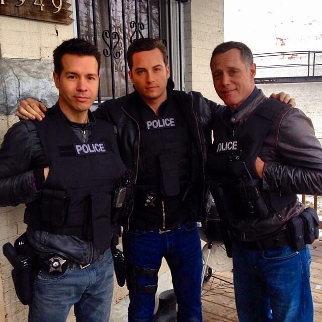 Chicago PD these men are why I love this show!  Team Voight.