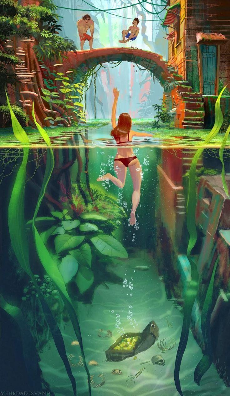 Mehrfad Isvandi - dá até a sensação de estar na água