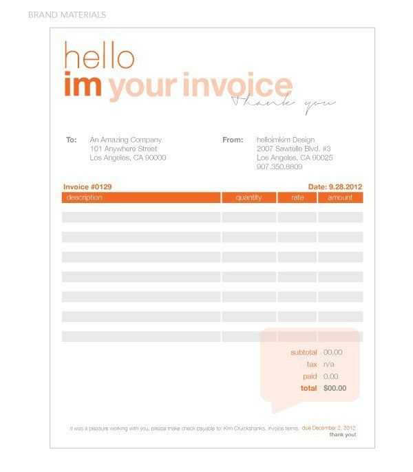 10 best invoice branding ideas images on Pinterest Invoice - invoice designer