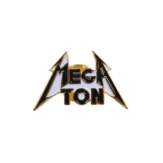 """""""FLAG YOU"""" MEGATON / BLACK&GOLD - STAARKS │http://staarks.com/  #staarks #staarks_official #staarks #pin #pins #lapelpin #enamelpin #pincollectors #pincollection #pinstagram #softenamel #pindesign #pinbadge #megaton #metal #metallogo #metalpin"""