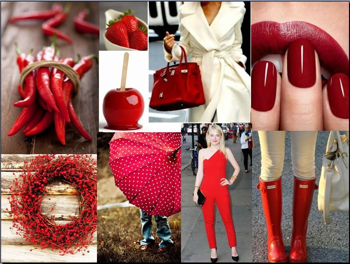 Colored Monday - red for energy