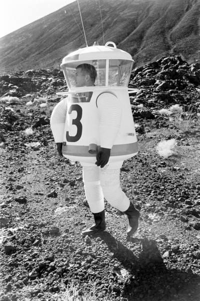 Training for Apollo Moon Mission, 1962.