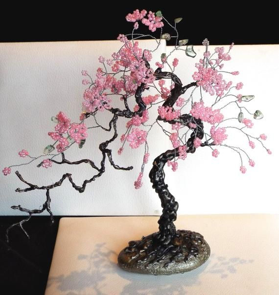 Bonsai Tree Bonsai Souvenir Beaded Tree Bonsai Sakura Tree Gemstone Tree Tree Of Life Magic Tree Tree Sou Wire Tree Sculpture Sakura Tree Tree Sculpture