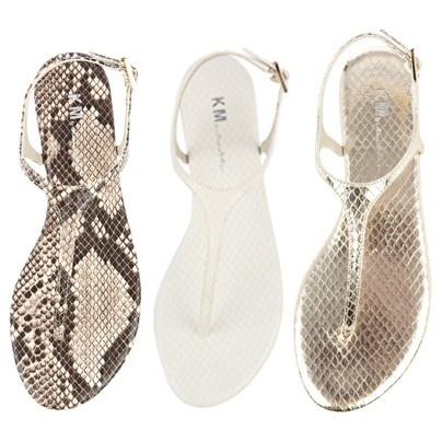 KM by Karen Millen sandals.