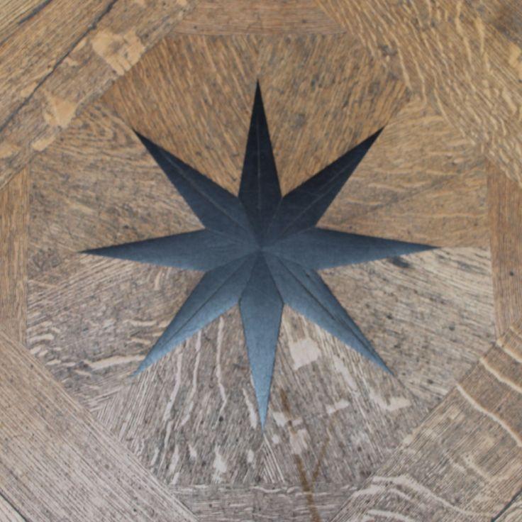 Louvre, Paris, France - star, floor - 2014