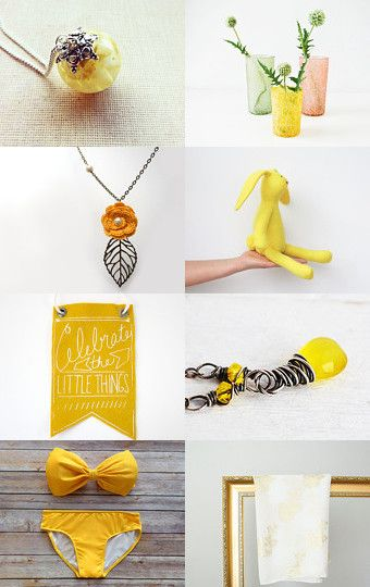 SUNSHINE MIX by Georgia on Etsy--Pinned with TreasuryPin.com