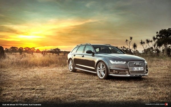 Audi A6 allroad quattro (photo: Audi Australia)