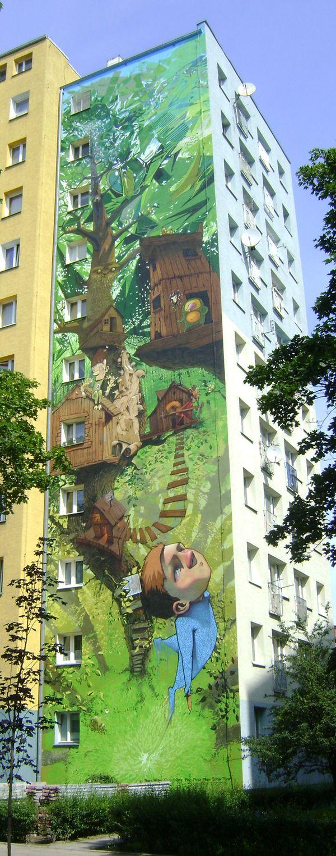 PROJECT BY: Przemek Blejzyktogether with bezt,boier,chylo,kome,pain,pener,roem,tone as C2C(CITY 2 CITY) 2009 Bydgoszcz/Poland #graffiti arts, #illustration, #painting