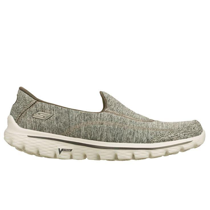 SKECHERS GO WALK 2 CIRCUIT grey  De Skechers GOWALK2 Supersock is 50 % schoen en 50% sok, dit maakt de GOWALK2 100% comfortabel.