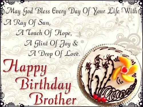 Happy Birthday broertje