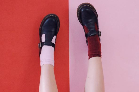 Docs and Socks: The Polley shoe, shared by floor.ish.