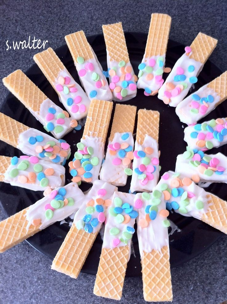 Easy Easter Wafer Cookies