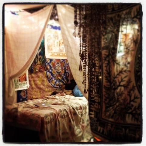 LOVE.... i have to have a bohemian space once i own a home... might get myself a bohemian summer house (converted shed).... wishfull thinking