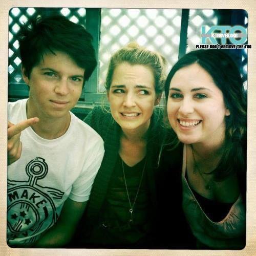 David Blaise, Katelyn Tarver & Sydney Lopez #Datelyn