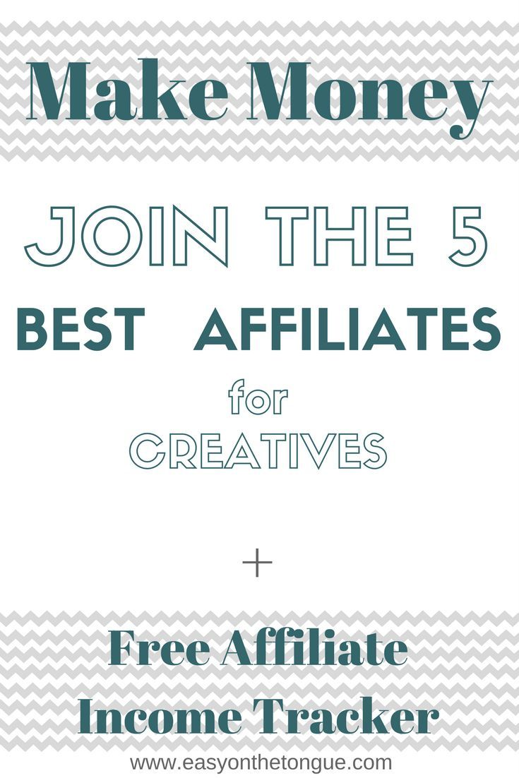 Are you a creative looking to make money on the side?  Grab our free Affiliate & Income Tracker today!