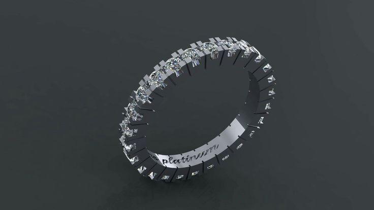 Ring platinum and diamonds ! Σειρε δαχτυλίδι από πλατίνα με διαμάντια!