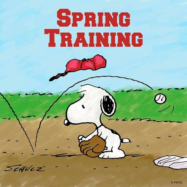 Spring training Snoopy