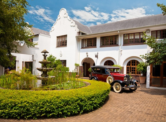 Kleinkaap Boutique Hotel in Pretoria for a touch of the Cape in Gauteng.