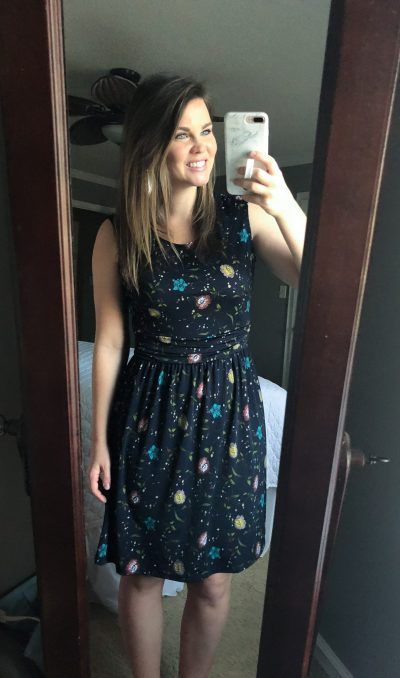 Mollie knot dress! I love the look of this dress. It's super cute!