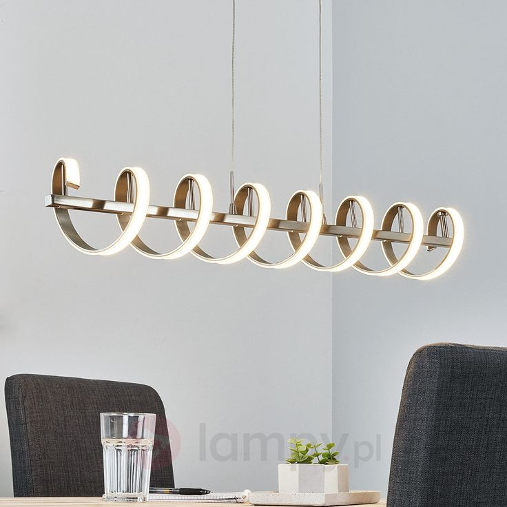 Spiralna lampa wahadłowa belka LED Pierre 9985032