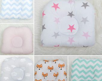 Baby Pillow with FREE shipping, Baby cushion, Newborn Baby Infant Pillow, Anti Roll Prevent Flat Head Support Neck, newborn cushion
