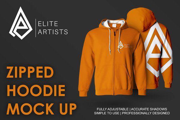 Download Zipped Hoodie Mock Up Psd Mockup Free Mockups Psd Mockup Zip Hoodie Hoodies