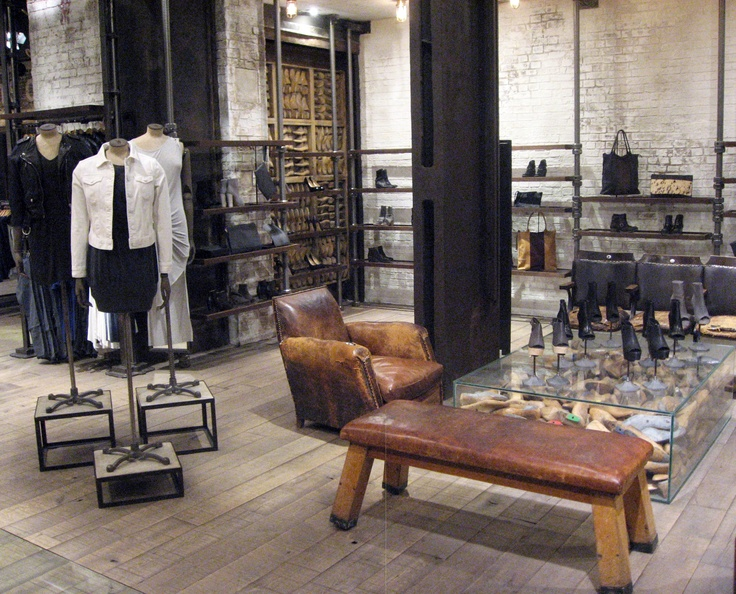 ALLSAINTS | NYC Soho  Showroom IdeasRetail InteriorCloset ...